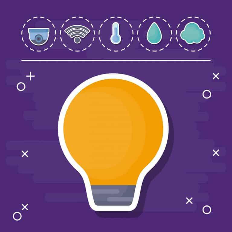 מנורה דולקת - מערכת אבטחה