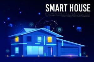 מערכת בית חכם אייקון דיגיטלי