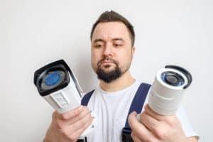 סט מצלמות אבטחה לבית